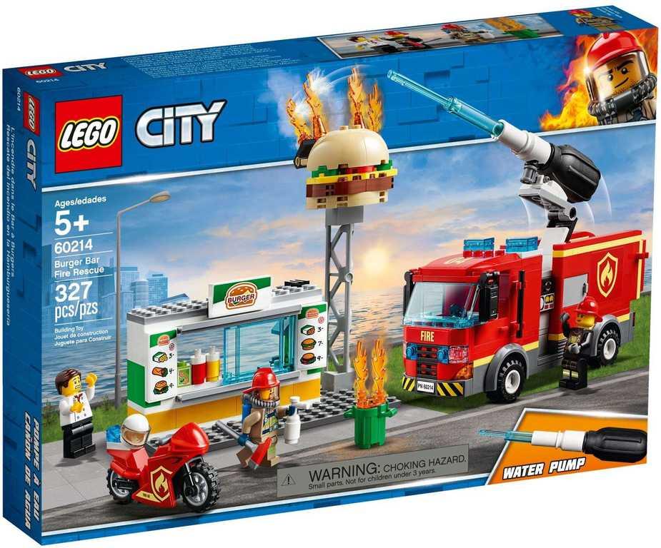 LEGO CITY Záchrana burgrárny 60214
