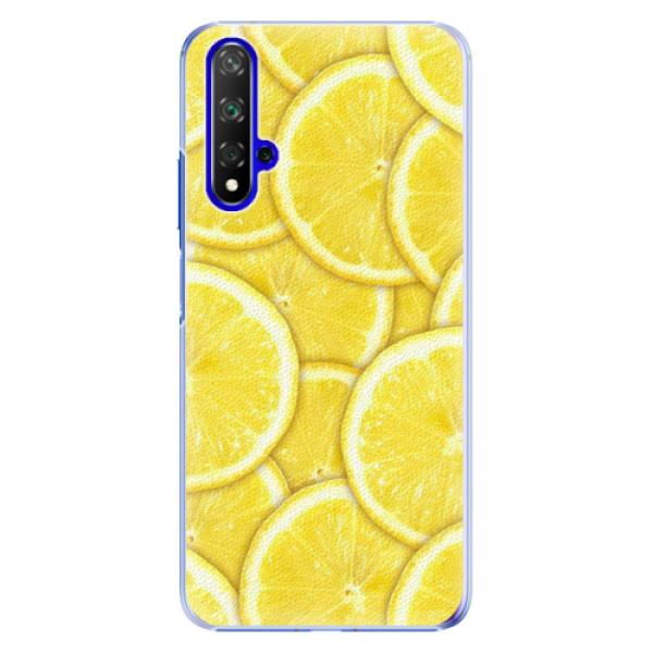 Plastové pouzdro iSaprio - Yellow - Huawei Honor 20