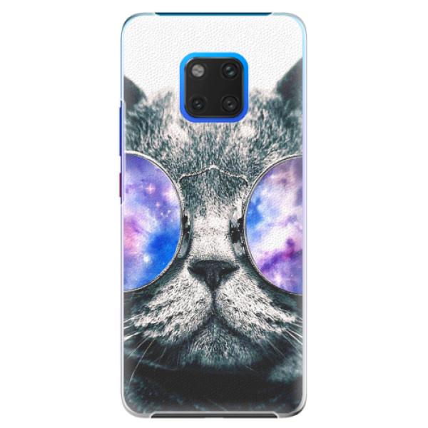 Plastové pouzdro iSaprio - Galaxy Cat - Huawei Mate 20 Pro