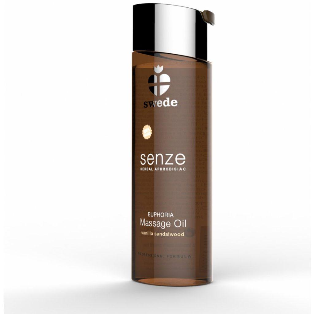 Swede Senze Massage Oil Euphoria Vanilla Sandalwood 75ml
