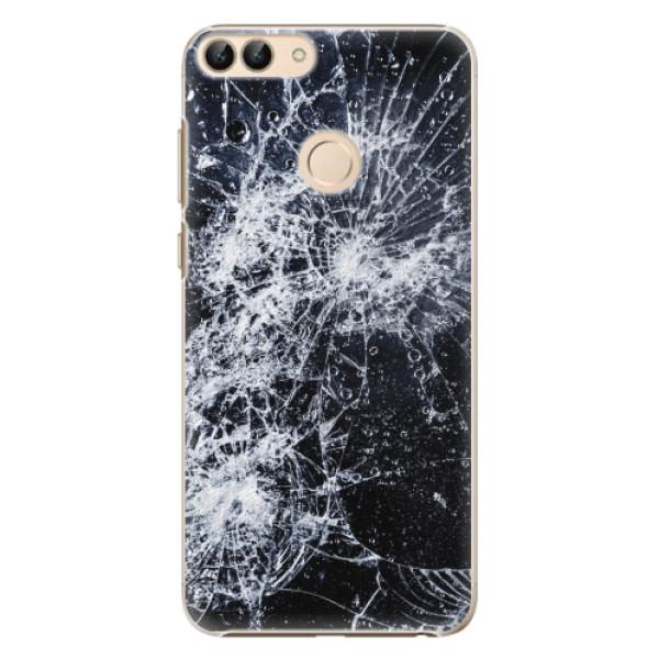 Plastové pouzdro iSaprio - Cracked - Huawei P Smart