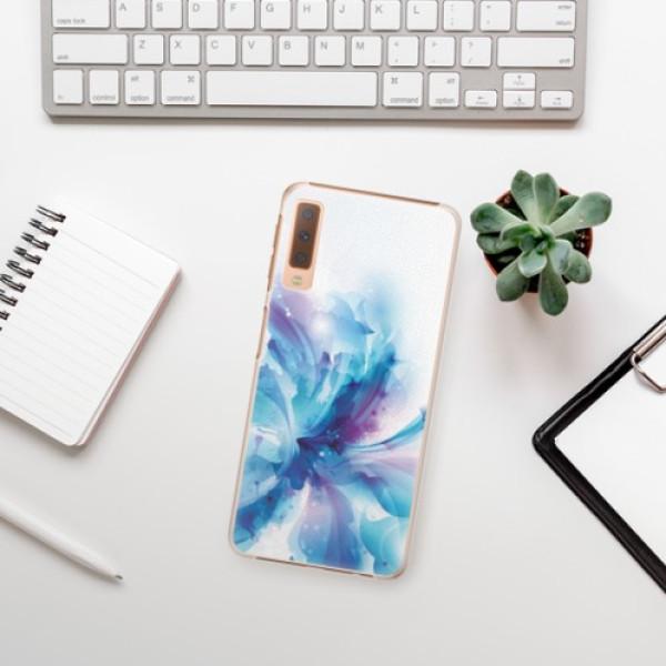 Plastové pouzdro iSaprio - Abstract Flower - Samsung Galaxy A7 (2018)
