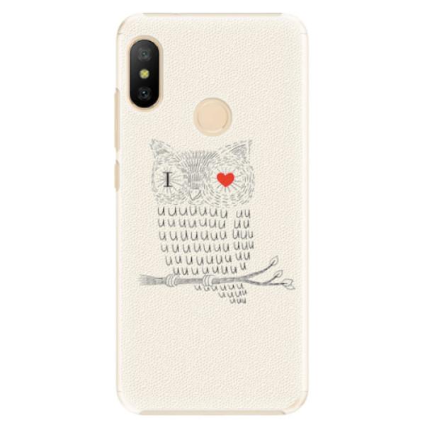 Plastové pouzdro iSaprio - I Love You 01 - Xiaomi Mi A2 Lite