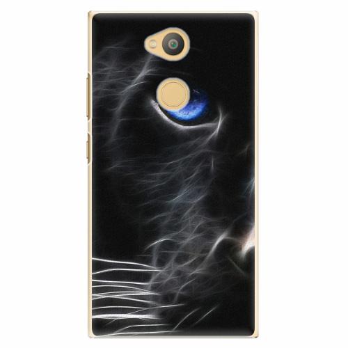 Plastový kryt iSaprio - Black Puma - Sony Xperia L2