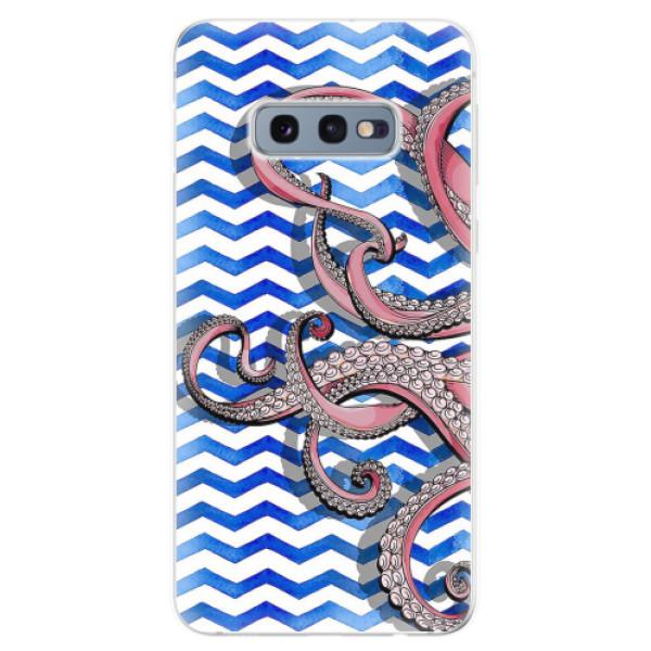 Odolné silikonové pouzdro iSaprio - Octopus - Samsung Galaxy S10e