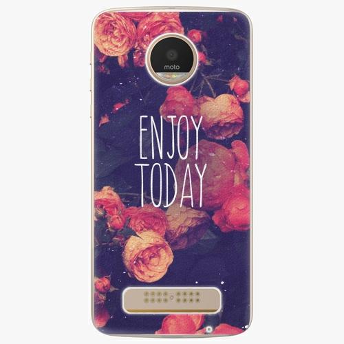 Plastový kryt iSaprio - Enjoy Today - Lenovo Moto Z Play