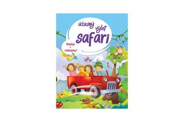 Pracovní sešit - Úžasný výlet safari