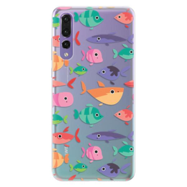 Silikonové pouzdro iSaprio - Fish pattern 01 - Huawei P20 Pro