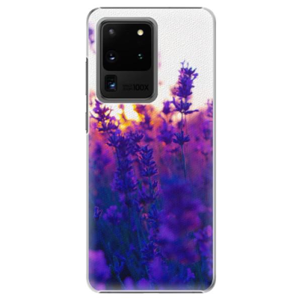 Plastové pouzdro iSaprio - Lavender Field - Samsung Galaxy S20 Ultra