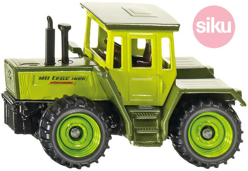 SIKU Traktor MERCEDES-BENZ Na stavbu KOV