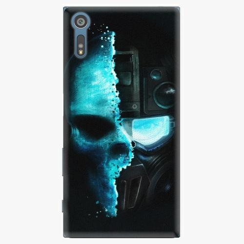 Plastový kryt iSaprio - Roboskull - Sony Xperia XZ
