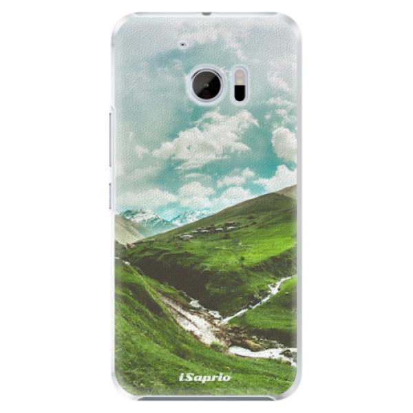 Plastové pouzdro iSaprio - Green Valley - HTC 10