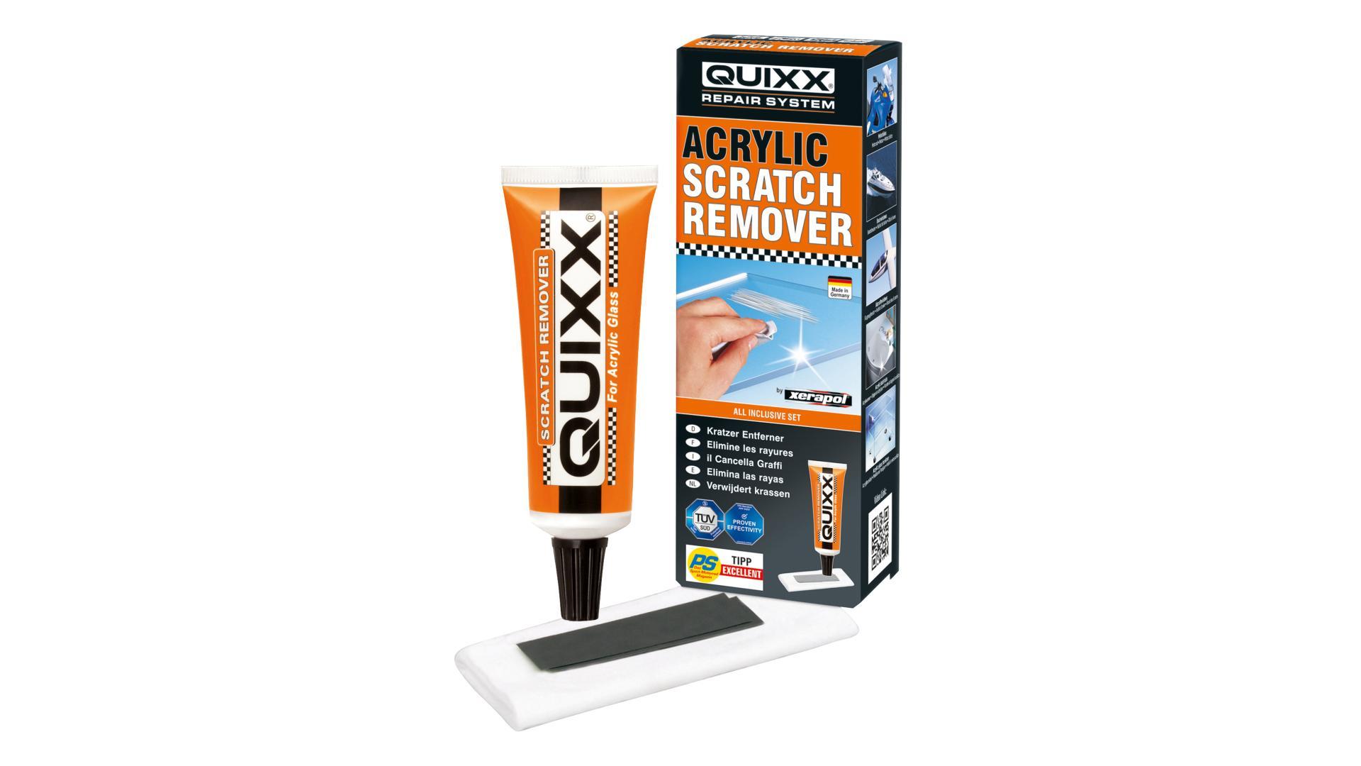 Quixx-Odstraňovač škrabancov z plexiskla 50g