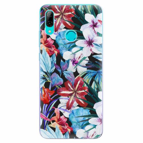 Silikonové pouzdro iSaprio - Tropical Flowers 05 - Huawei P Smart 2019