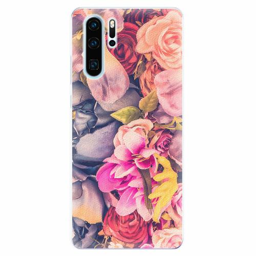 Silikonové pouzdro iSaprio - Beauty Flowers - Huawei P30 Pro
