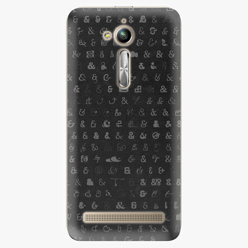 Plastový kryt iSaprio - Ampersand 01 - Asus ZenFone Go ZB500KL