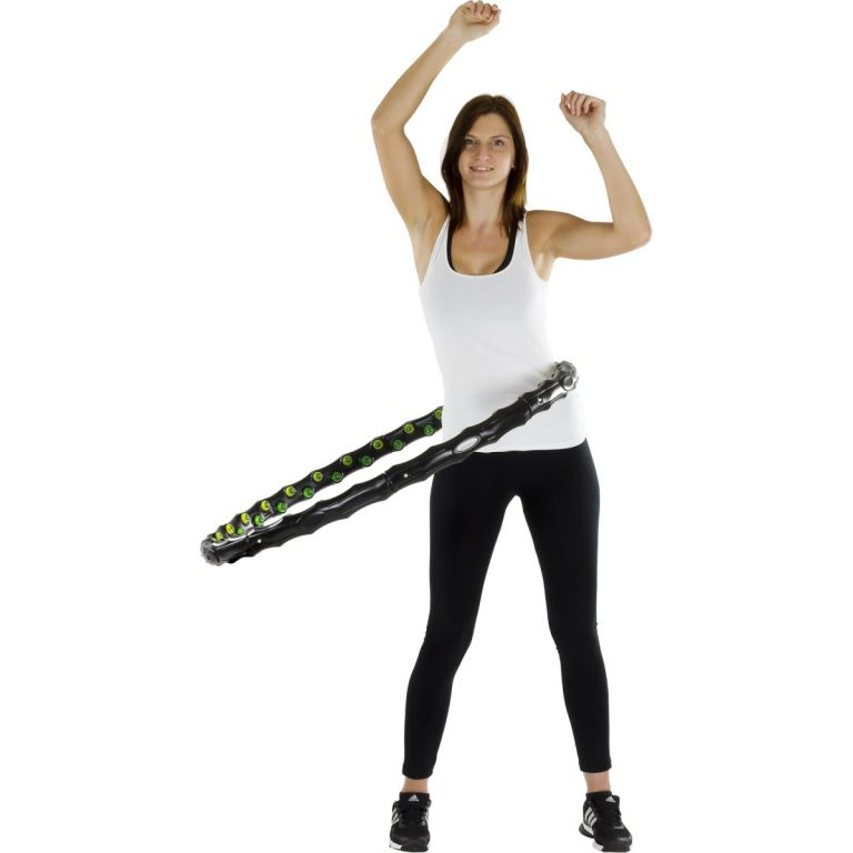 Hula Hoop Masážní obruč na cvičení, 96 cm 64 magnetů