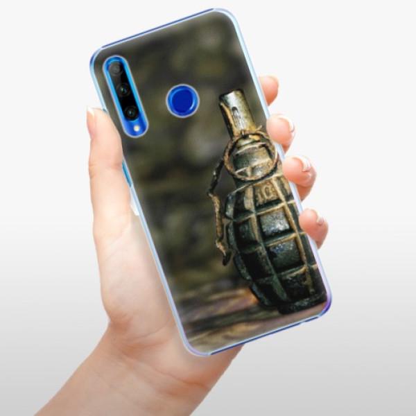 Plastové pouzdro iSaprio - Grenade - Huawei Honor 20 Lite