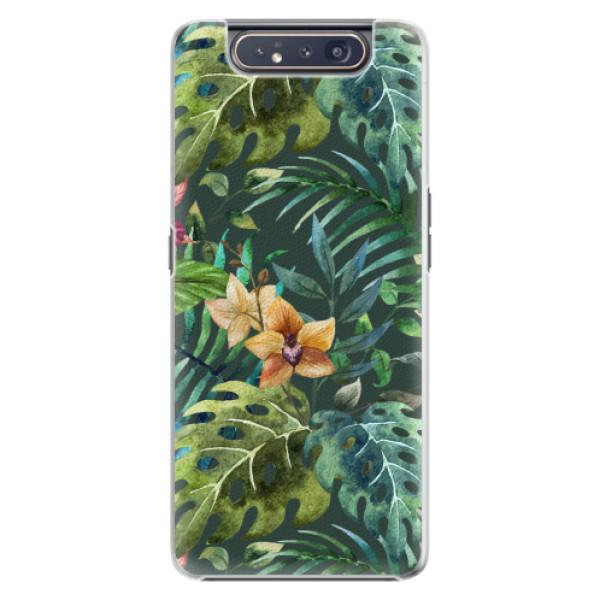 Plastové pouzdro iSaprio - Tropical Green 02 - Samsung Galaxy A80
