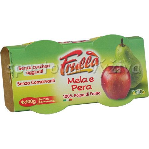 Frulla ovocná dřeň - 4x100g-jablko