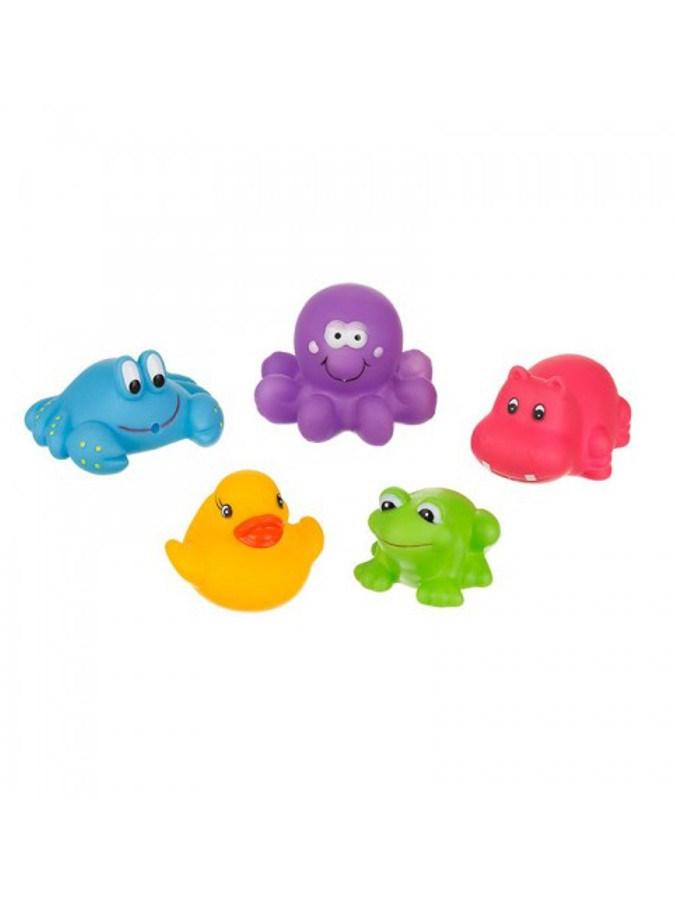 Hračka do koupele Akuku - zvířátka malá - multicolor