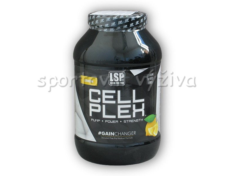 cell-plex-2520g-pre-workout-formula-cornella-crunchy-muesli-bar-50g-akce-choco-banana-citron