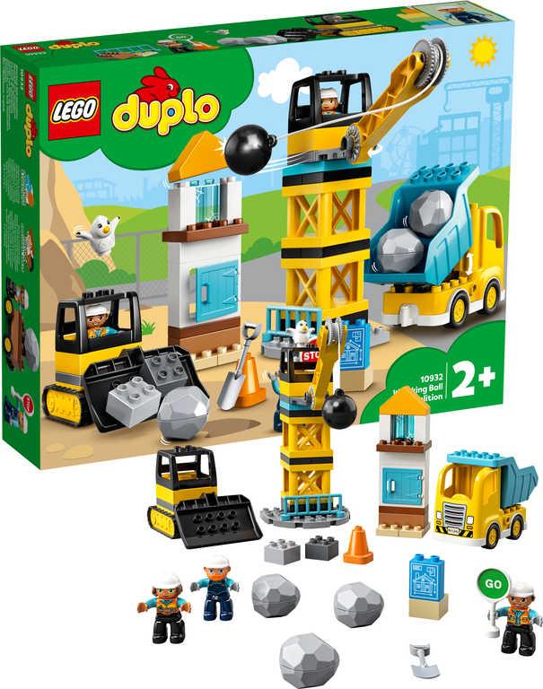 LEGO DUPLO Demolice na staveništi 10932 STAVEBNICE