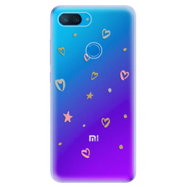 Odolné silikonové pouzdro iSaprio - Lovely Pattern - Xiaomi Mi 8 Lite