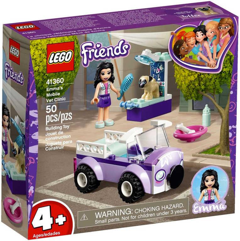 LEGO FRIENDS Emma a mobilní veterinární klinika 41360 STAVEBNICE
