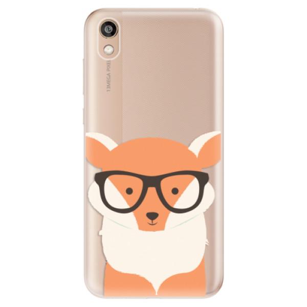 Odolné silikonové pouzdro iSaprio - Orange Fox - Huawei Honor 8S