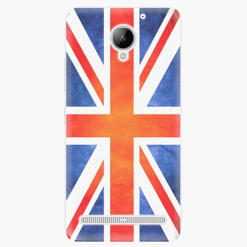Plastový kryt iSaprio - UK Flag - Lenovo C2
