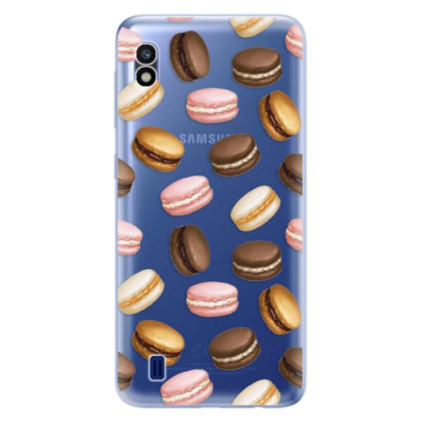 Odolné silikonové pouzdro iSaprio - Macaron Pattern - Samsung Galaxy A10