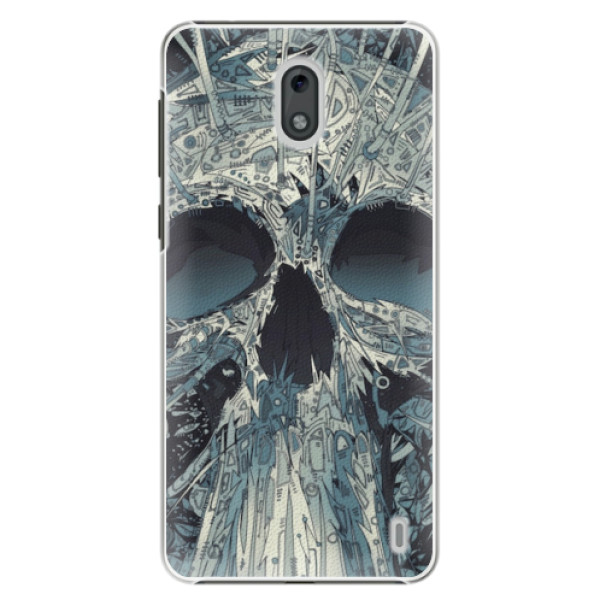 Plastové pouzdro iSaprio - Abstract Skull - Nokia 2