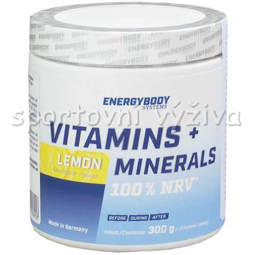Vitamins + Minerals 300g-lemon