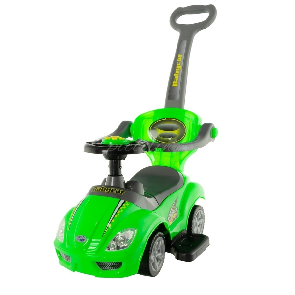 Euro Baby Odstrkovadlo, odrážedlo 3v1 AUTO - zelené