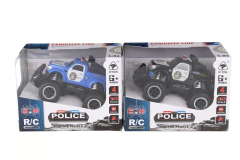 Jeep policejní na dálkové ovládání