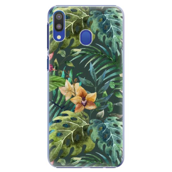 Plastové pouzdro iSaprio - Tropical Green 02 - Samsung Galaxy M20