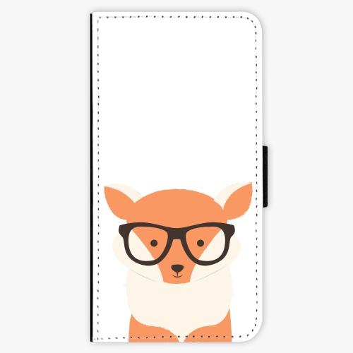 Flipové pouzdro iSaprio - Orange Fox - iPhone 7 Plus