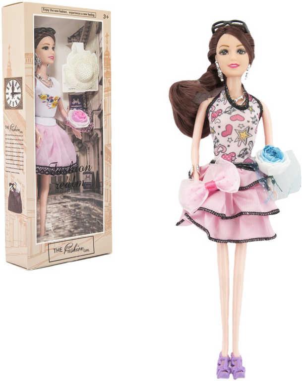 Panenka retro kloubová s doplňky 30cm old fashion 2 druhy