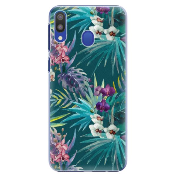 Plastové pouzdro iSaprio - Tropical Blue 01 - Samsung Galaxy M20