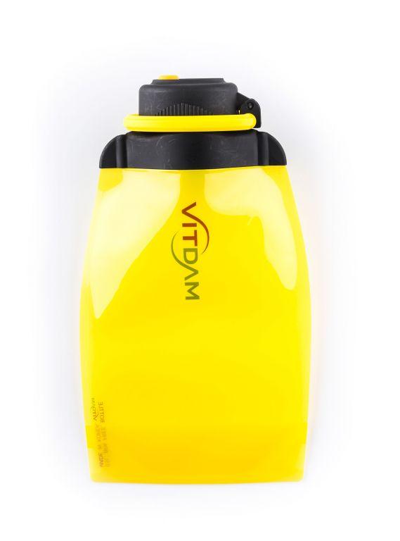 Láhev Vitdam skládací - 500 ml, žlutá