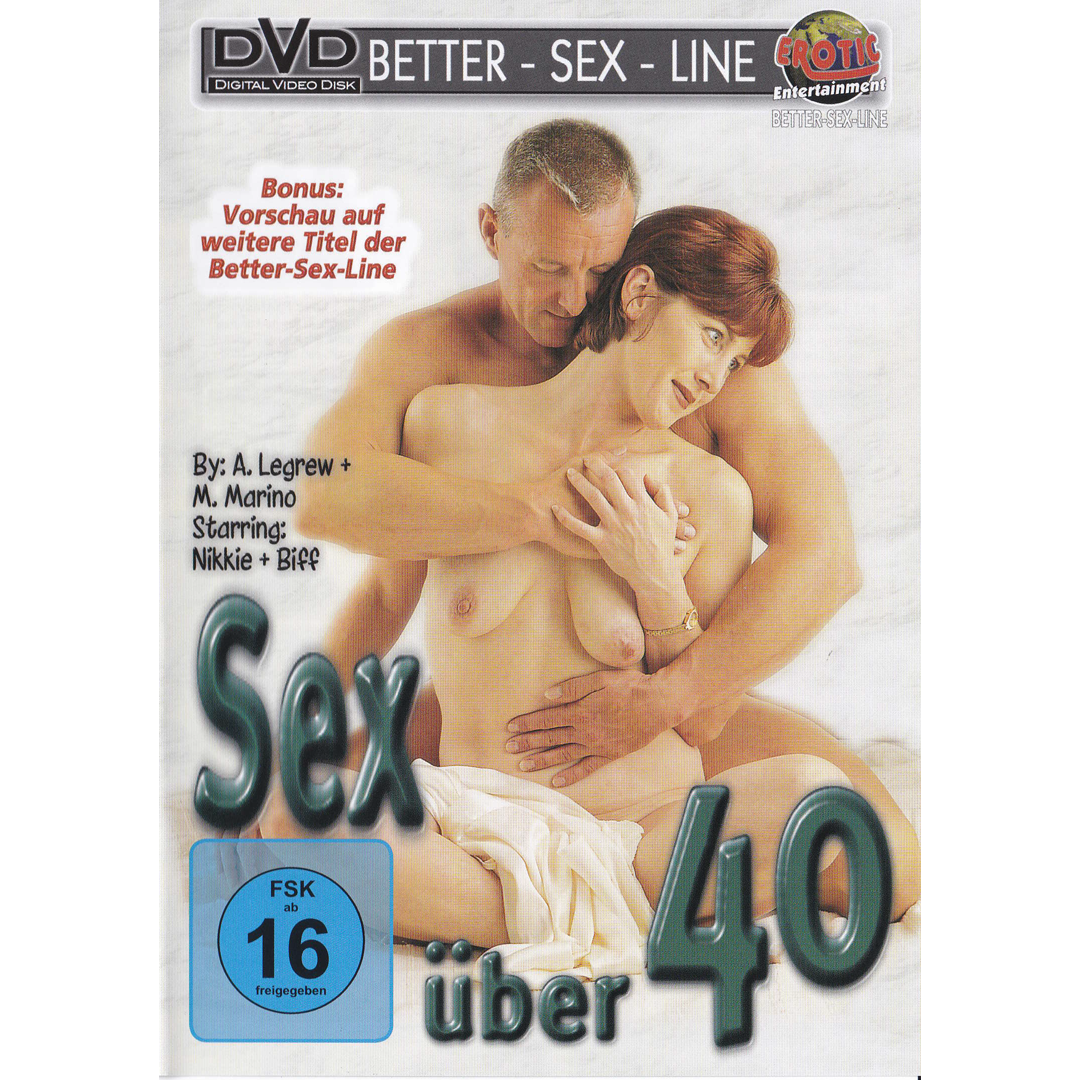DVD - Sex über 40 - Sex po čtyřicítce <br /> 110 MINUT, DVD