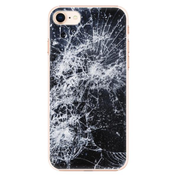 Plastové pouzdro iSaprio - Cracked - iPhone 8