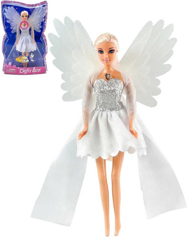 Panenka Defa Lucy víla 29 cm svítí křídla