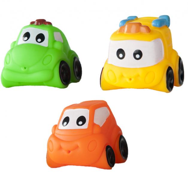 Hencz Toys Gumová autíčka do vany - 2 ks