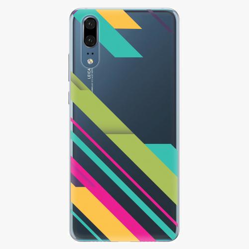 Silikonové pouzdro iSaprio - Color Stripes 03 - Huawei P20