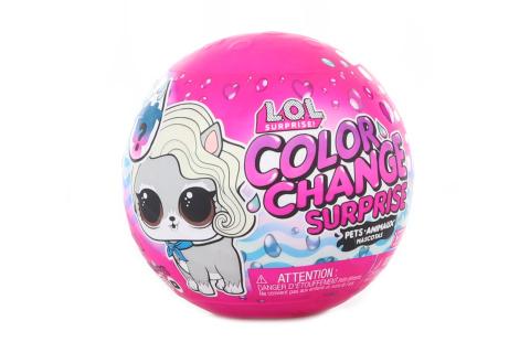 L.O.L. Surprise! Zvířátko se změnou barvy, PDQ TV 1.10.-31.12.