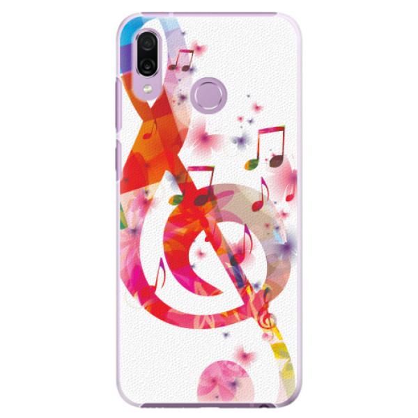Plastové pouzdro iSaprio - Love Music - Huawei Honor Play
