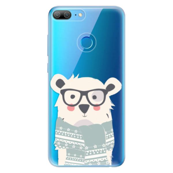 Odolné silikonové pouzdro iSaprio - Bear with Scarf - Huawei Honor 9 Lite