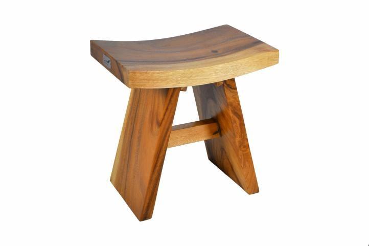 Stolička z masivního dřeva DIVERO
